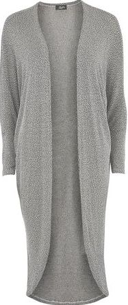 Dorothy Perkins, 1134[^]262015000705791 Womens Fever Fish Grey Booklay Cardigan- Grey