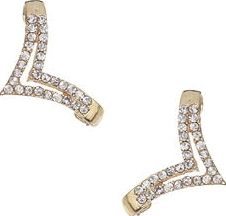 Dorothy Perkins, 1134[^]262015000709284 Womens Gold Triangle Ear Hug- Gold DP49816176