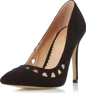 Dorothy Perkins, 1134[^]262015000707588 Womens Head Over Heels Aroura Court Shoes- Black