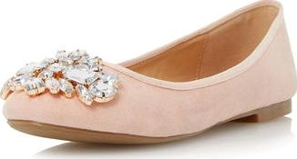 Dorothy Perkins, 1134[^]262015000706472 Womens Head Over Heels Hestiar Jewel Detail