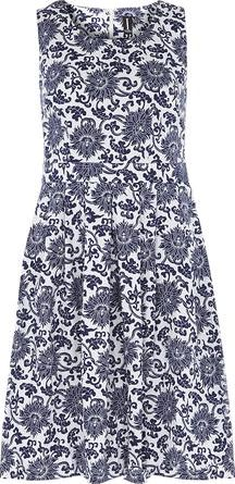 Dorothy Perkins, 1134[^]262015000712373 Womens Izabel London Multi Blue Midi Dress- Blue