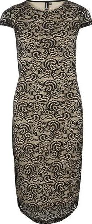 Dorothy Perkins, 1134[^]262015000712383 Womens Izabel London Multi Natural Midi Dress-