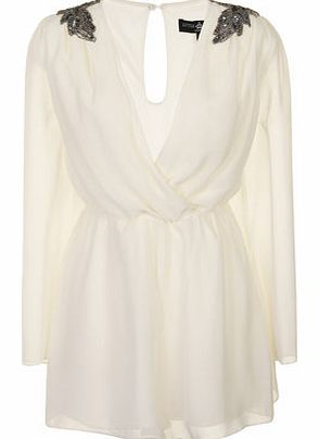 Womens Little Mistress Cream Embellished