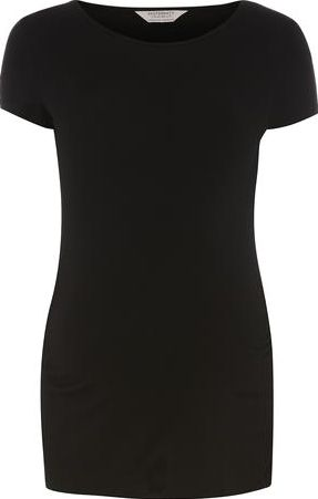 Dorothy Perkins, 1134[^]262015000705621 Womens Maternity Black Ruched Tee- Black