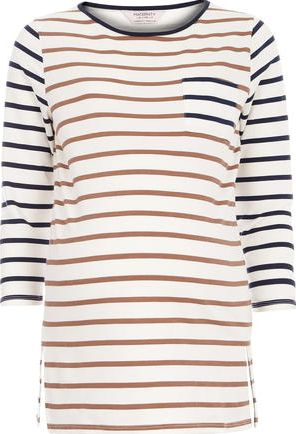 Dorothy Perkins, 1134[^]262015000705527 Womens Maternity Stripe Sweat- Ivory DP17304882