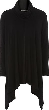 Dorothy Perkins, 1134[^]262015000706777 Womens Mela Black High Low Jumper- Black