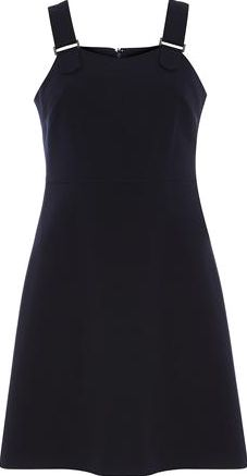 Dorothy Perkins, 1134[^]262015000709627 Womens Navy Buckle Pinny Dress- Blue DP66832123