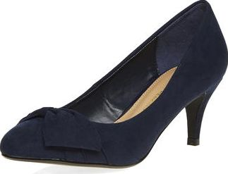Dorothy Perkins, 1134[^]262015000714861 Womens Navy Chile Court Shoes- Blue DP22406623