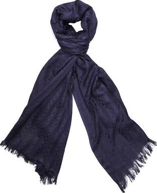 Dorothy Perkins, 1134[^]262015000713362 Womens Navy Raw Edge Scarf- Blue DP11173723