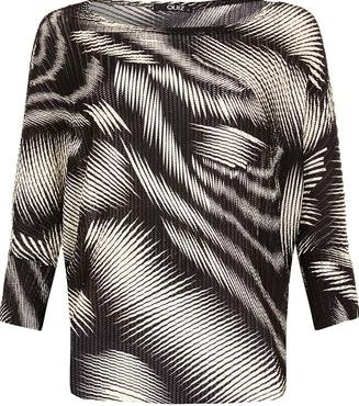 Dorothy Perkins, 1134[^]262015000706654 Womens Quiz Light Knit Batwing Sleeve Top- Black