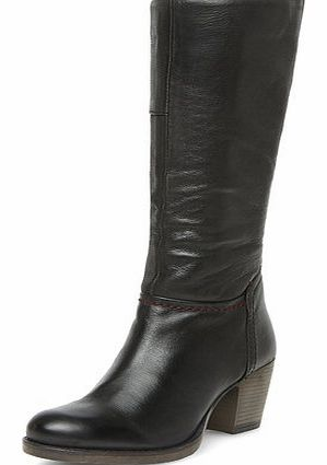 Dorothy Perkins Womens Ravel Pull on knee high boots- Black