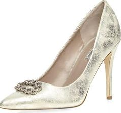 Dorothy Perkins, 1134[^]262015000714108 Womens Silver Wiley Court shoes- Silver
