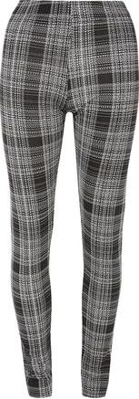 Dorothy Perkins, 1134[^]262015000709137 Womens Tall Mono Check Print Treggings- Black