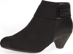 Dorothy Perkins, 1134[^]262015000708373 Womens Wide fit black word shoe boot- Black