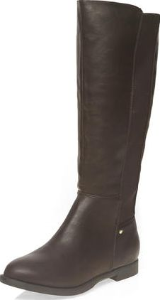Dorothy Perkins, 1134[^]262015000706310 Womens Wide fit chocolate wood boots- Brown