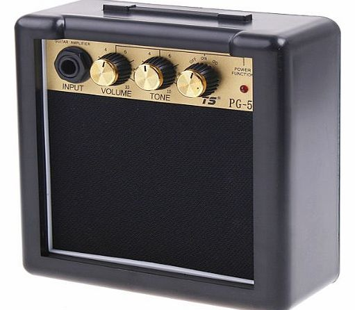 douself PG-5 5W Electric Guitar Amp Amplifier Speaker Volume Tone Control With Metal Clip product image