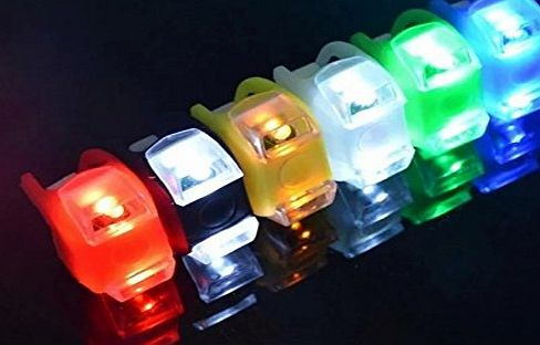 Doyime LED Bicycle Light VERY BRIGHT BIKE LED LIGHT mount at fork handlebar seat post FROG LIGHT-Green