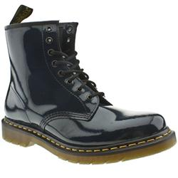 Female Dr Martens 1460 Patent Upper Casual in Navy