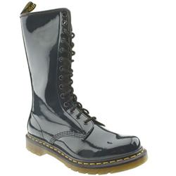 Female Dr Martens 1b99 Patent Upper Casual in Navy
