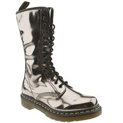 Female Dr Martens 1b99 Patent Upper Casual in Pewter