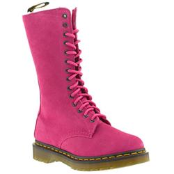 Female Dr Martens Blair Suede Upper Casual in Pink