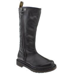 Female Phoenix Debbie Tall Boot Leather Upper Casual in Black