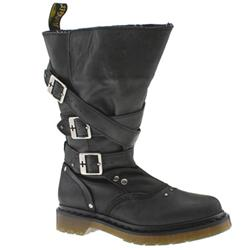 Female Phoenix Jara Boot Leather Upper Casual in Black