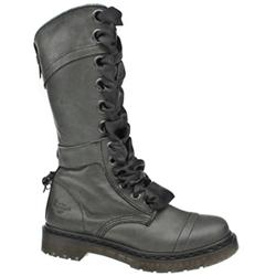 Female Triumph 1914 Boot Leather Upper Alternative in Black