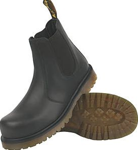 Dr Martens, 1228[^]67148 Icon Pull on Safety Dealer Boot Black