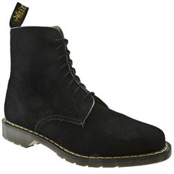 Male Dr Martens Jeffery Suede Upper Casual Boots in Black, Brown