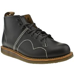 Male Dr Martens Philip Leather Upper Casual Boots in Black, Dark Brown