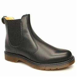 Male Original Chelsea Leather Upper Casual Boots in Black