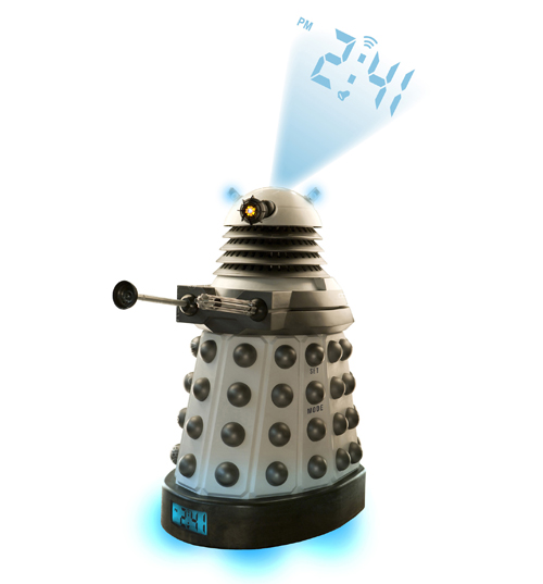 Who Dalek Projection Clock