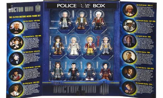 Doctor Who Anniversary Doctors Collector Set