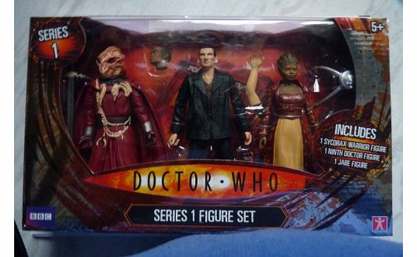 DOCTOR WHO SERIES 1 FIGURE SET