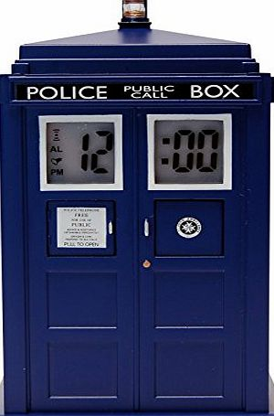 Dr Who Doctor Who Tardis Projection Electronic Alarm Clock DR190
