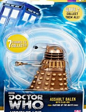 Dr Who Doctor Who Wave 2 Action Figure - Assault Dalek with Claw Arm