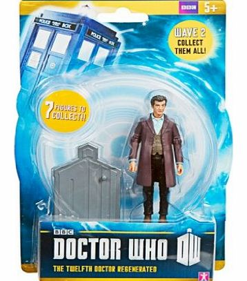Doctor Who Wave 2 Action Figure - The 12th Twelfth Doctor Regenerated