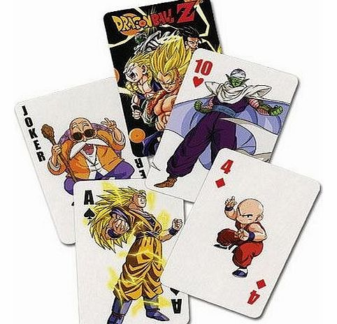 Dragonball Z Playing Cards product image