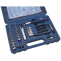 Draper 60 Piece Socket And Screwdriver Bit Set product image