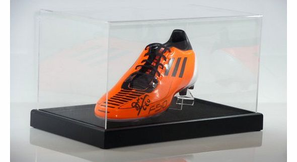 Dream Keepers SINGLE SIGNED FOOTBALL BOOT DISPLAY CASE product image