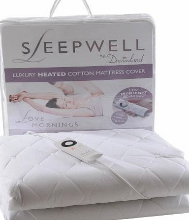 Dreamland 6985 Sleepwell Mattress Cover, Double