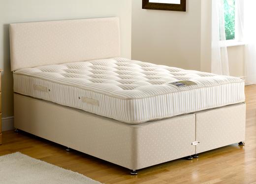 Dreams bed factory divan beds for Beige divan bed