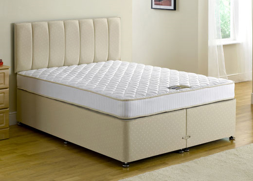 Divan beds dreams mattress factory small double executive for Small double divan set