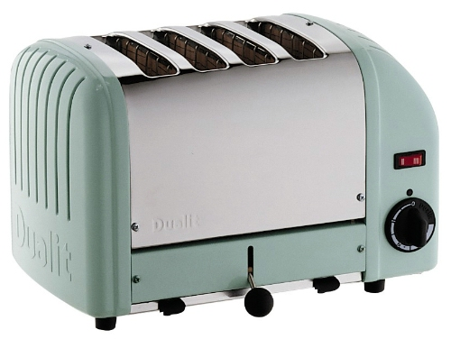 Dualit 4 Slot Mint Green Toaster