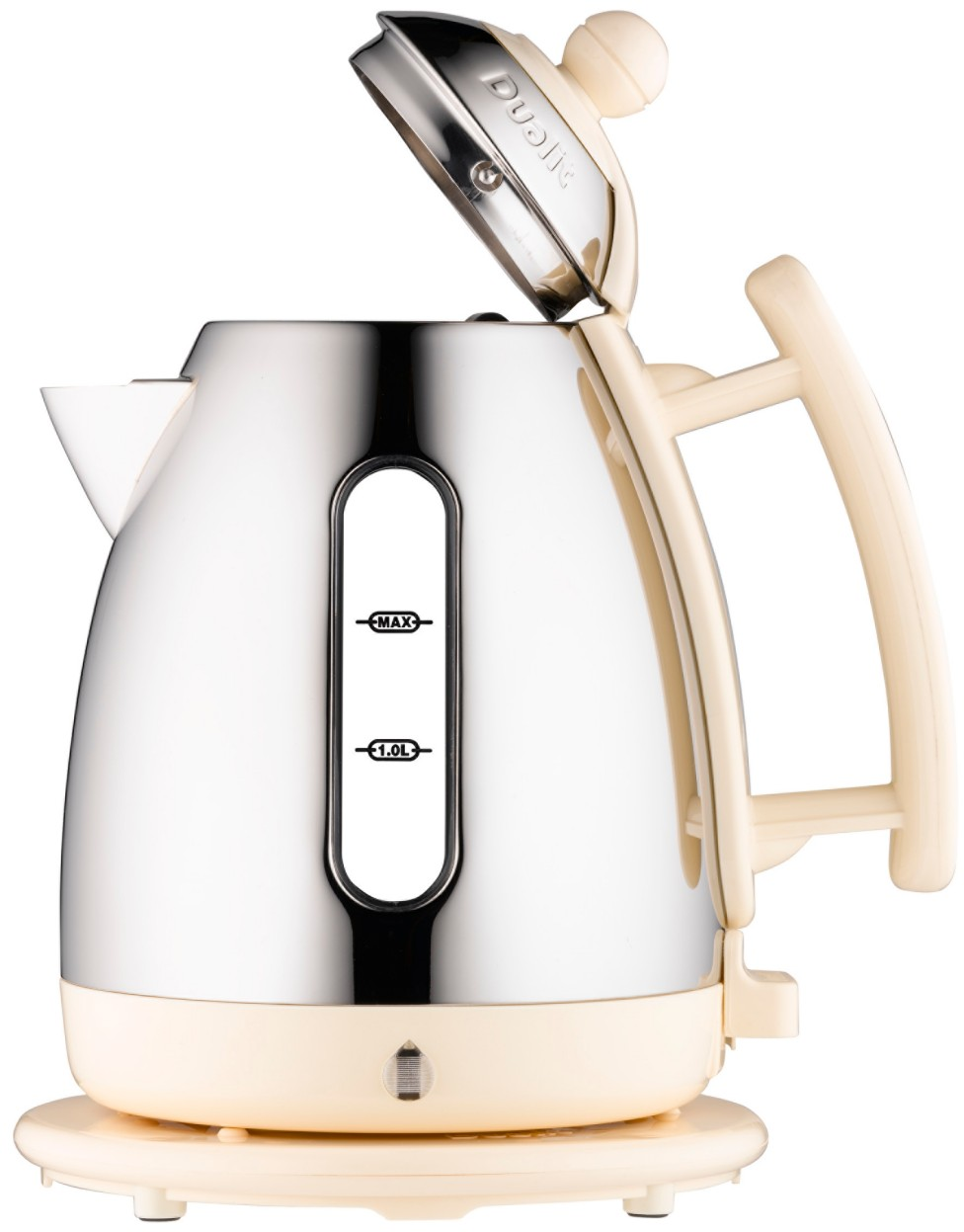 dualit 72402 cream kettle review compare prices buy online. Black Bedroom Furniture Sets. Home Design Ideas