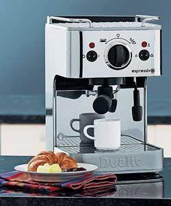 dualit coffee machine how to use