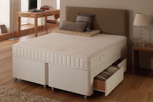 Dunlopillo firmrest latex divan bed super kingsize 180cm for 180 cm divan