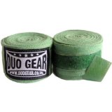 GREEN DUO Muay Thai Kickboxing Boxing Hand Wraps