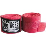 RED DUO Muay Thai Kickboxing Boxing Hand Wraps